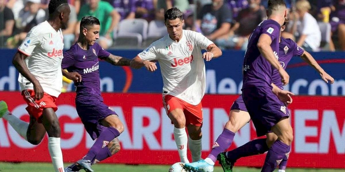 Cristiano y Juventus no pudieron ante la Fiorentina de Erick Pulgar