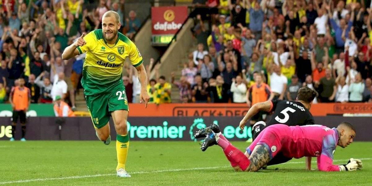 Premier League: El City sufrió sorpresiva derrota ante el Norwich y Liverpool sigue intratable en Anfield