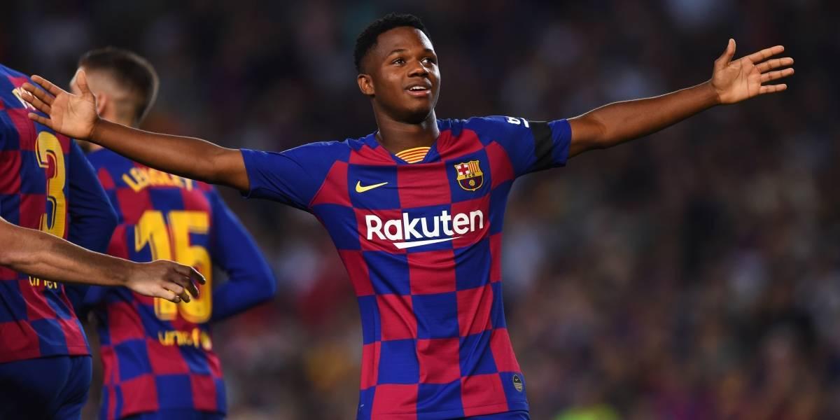 Ansu Fati recibe nacionalidad española y podrá jugar Mundial sub-17
