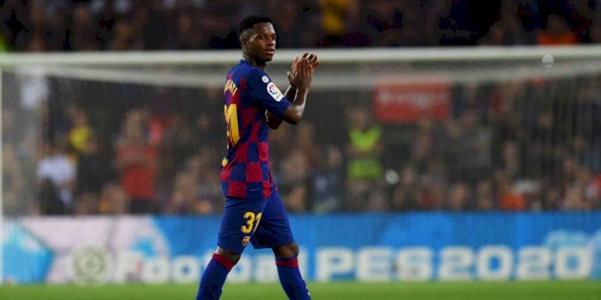 Sin Messi, con Ansu Fati desatado y con Vidal en el final: Barcelona arrolló a Valencia