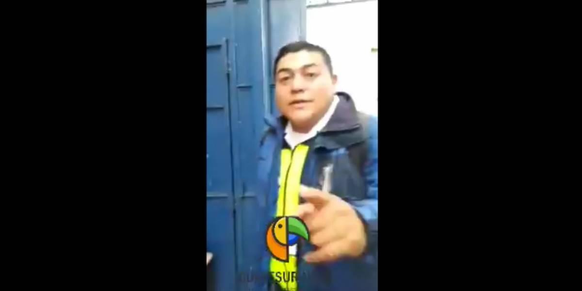 Municipalidad de Guatemala pide información para accionar contra motorista
