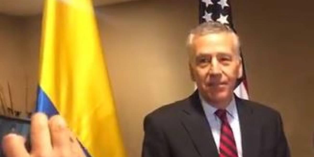 Llega a Colombia el nuevo embajador de Estados Unidos