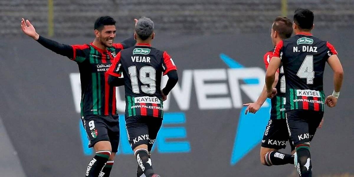 Palestino vuelve a los triunfos gracias a sus goleadores y se mete en la pelea por la Libertadores