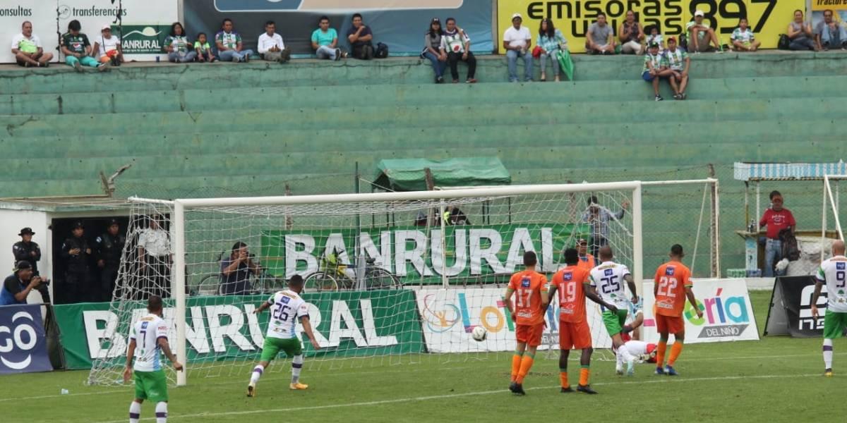 Antigua GFC sigue en la cima del torneo gracias al gol de José Ardón