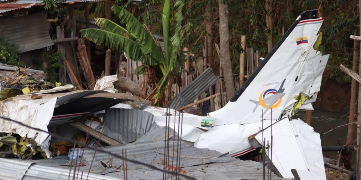 VIDEO. Al menos siete muertos en accidente de avioneta en suroeste de Colombia