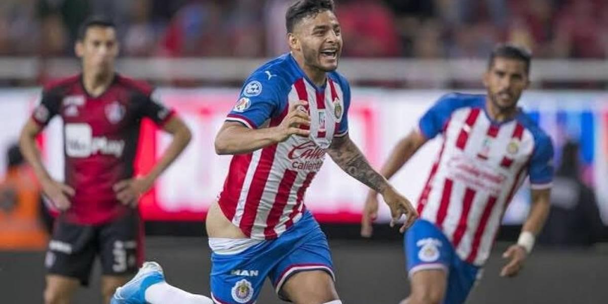 VIDEO. Alexis Vega marca un gol para Chivas y no creerás cómo lo festejó