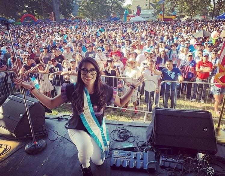 Ana Sofía Gómez celebra Día independencia Estados Unidos