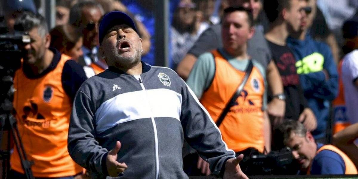 Maradona cae en su debut con el Gimnasia y Esgrima