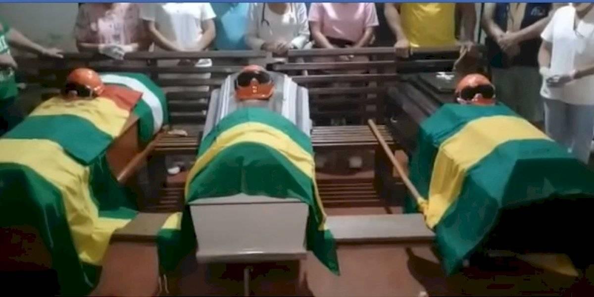 Mueren tres bomberos voluntarios en su día de descanso en Bolivia