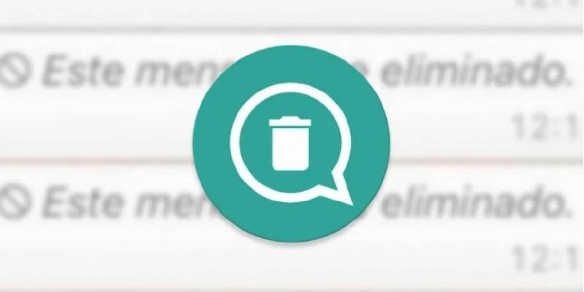 Con estos sencillos pasos puedes volver a leer mensajes 'Eliminados' de WhatsApp