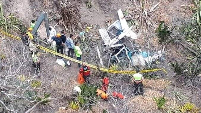 Dos fallecidos al accidentarse helicóptero en Imbabura Cortesía
