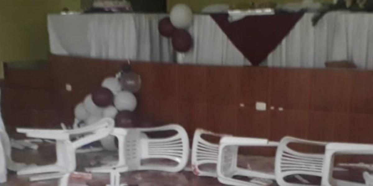 Quito: Recién casados recibieron disparos durante su fiesta en Quitumbe