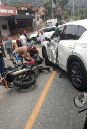 Accidente Jarlan Barrera