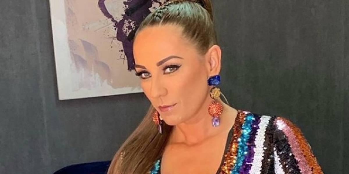"""Consuelo Duval genera polémica al compartir imagen de su """"celulítica"""" retaguardia"""