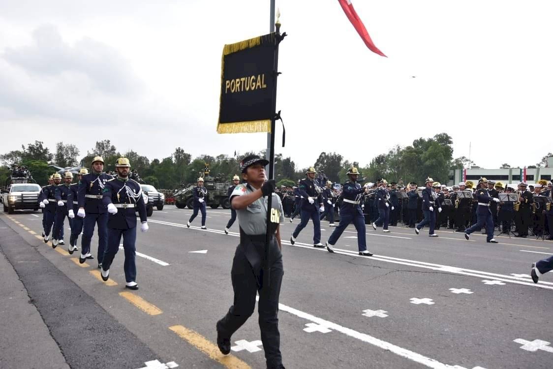 Guardia Nacional desfile