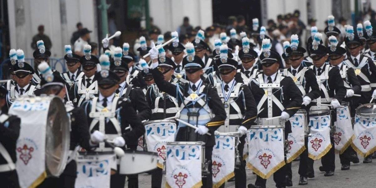 Escuela Politécnica inicia desfile del 15 de septiembre