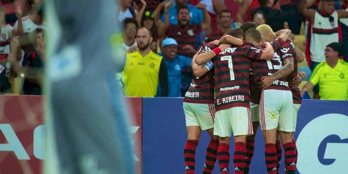 Flamengo se quedó con el duelo de punteros ante el Santos de Sampaoli y es líder absoluto del Brasileirao