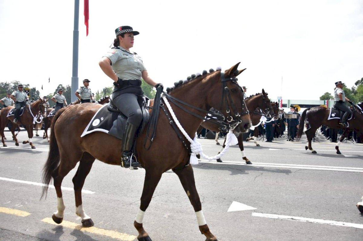 Ensayos Guardia Nacional