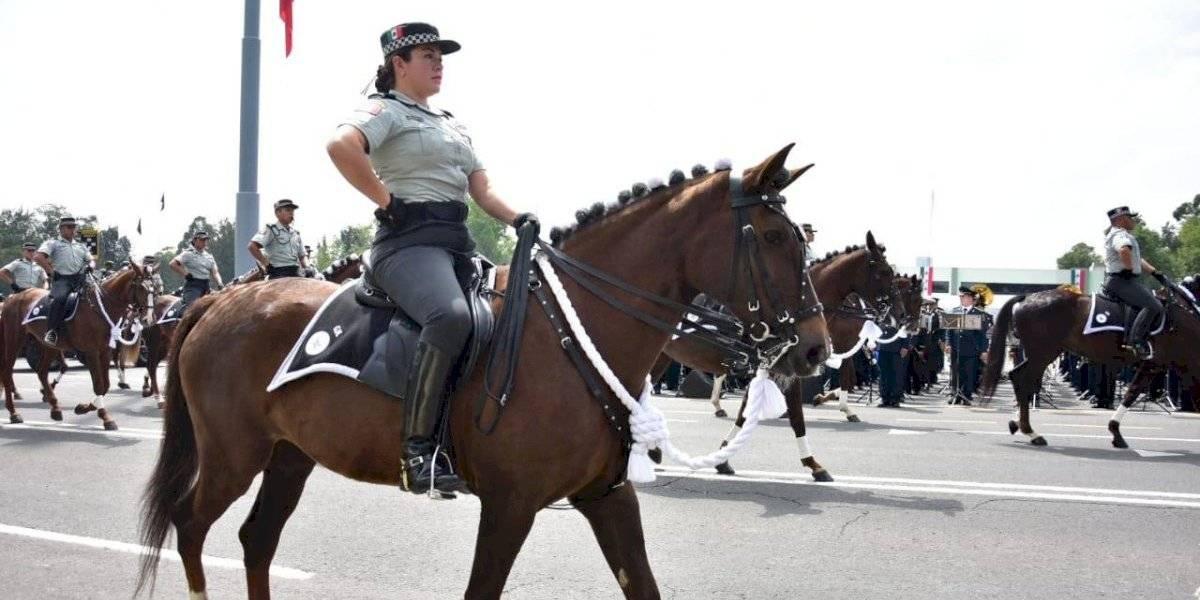 FOTOS: Todo listo para el desfile militar que encabezará la Guardia Nacional