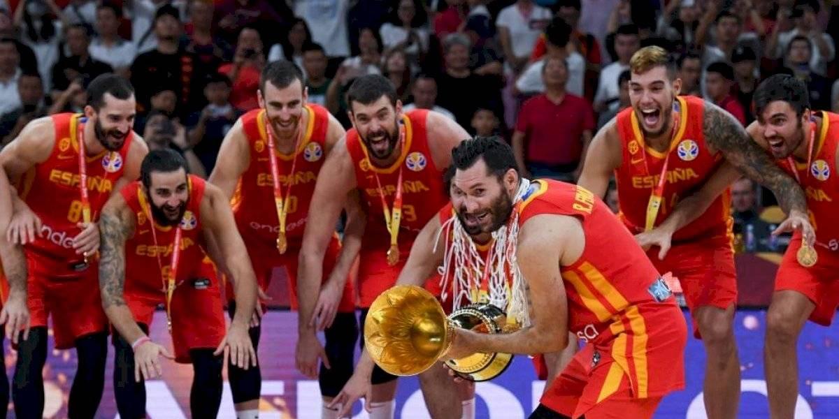FOTOS. España derrota a Argentina y se queda con el título mundial de baloncesto