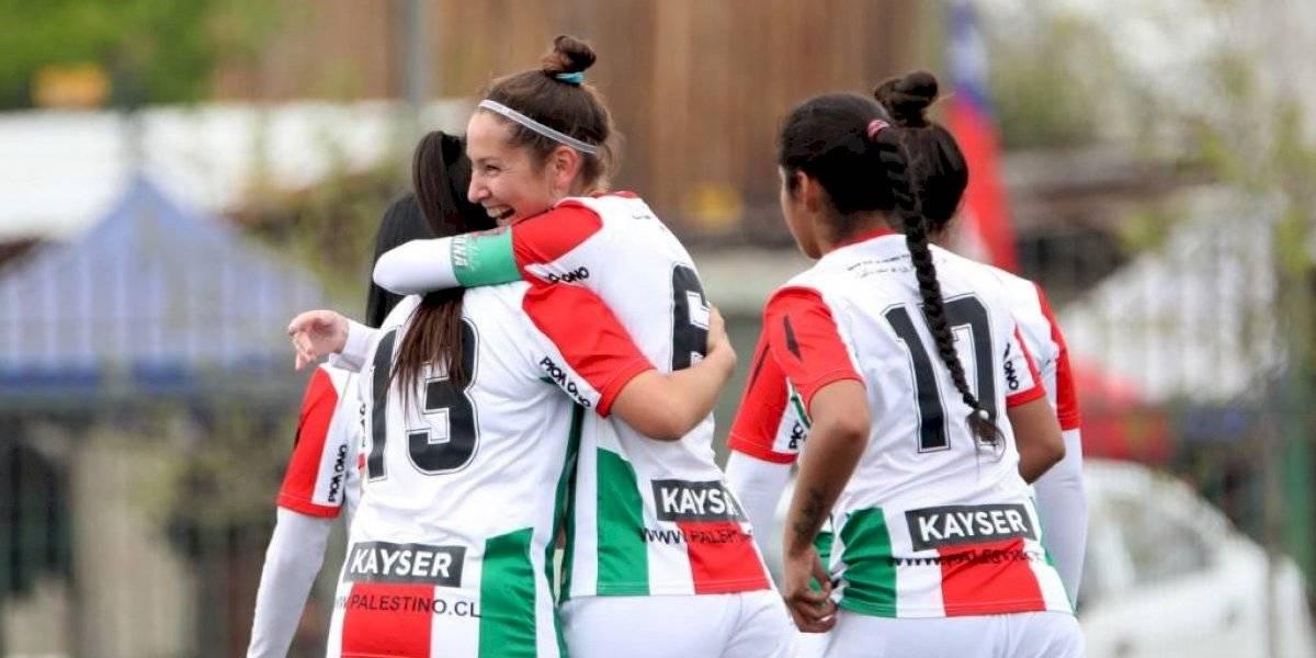 Palestino goleó a Cobresal y hundió aún más a las nortinas en la tabla del fútbol femenino