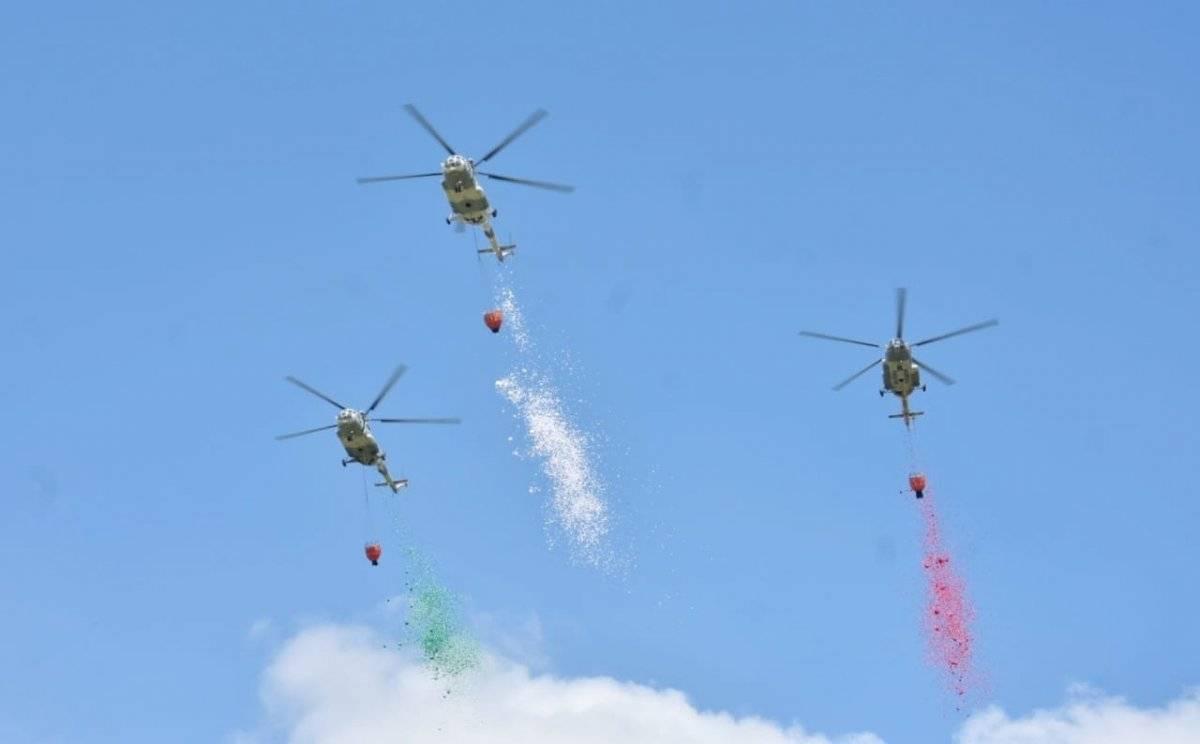 Parada Aérea, desfile militar