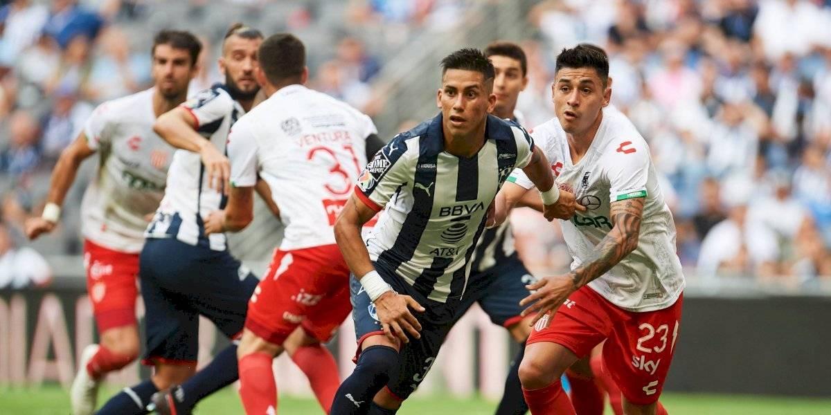 El Necaxa de los chilenos se impuso a domicilio al Monterrey y sigue encendido en la Liga MX