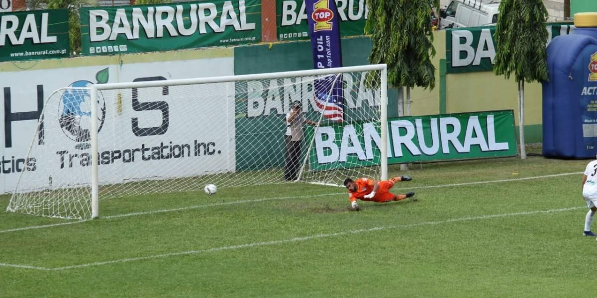 Guastatoya marca el gol más rápido del Apertura 2019