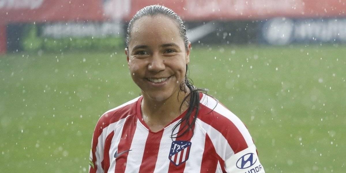 Charlyn Corral marca su primer gol con el Atlético de Madrid
