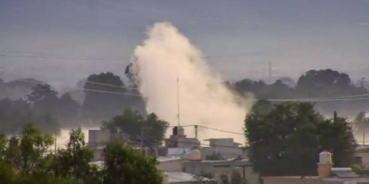 Toma clandestina en Acolman, Edomex, provoca fuga de gas