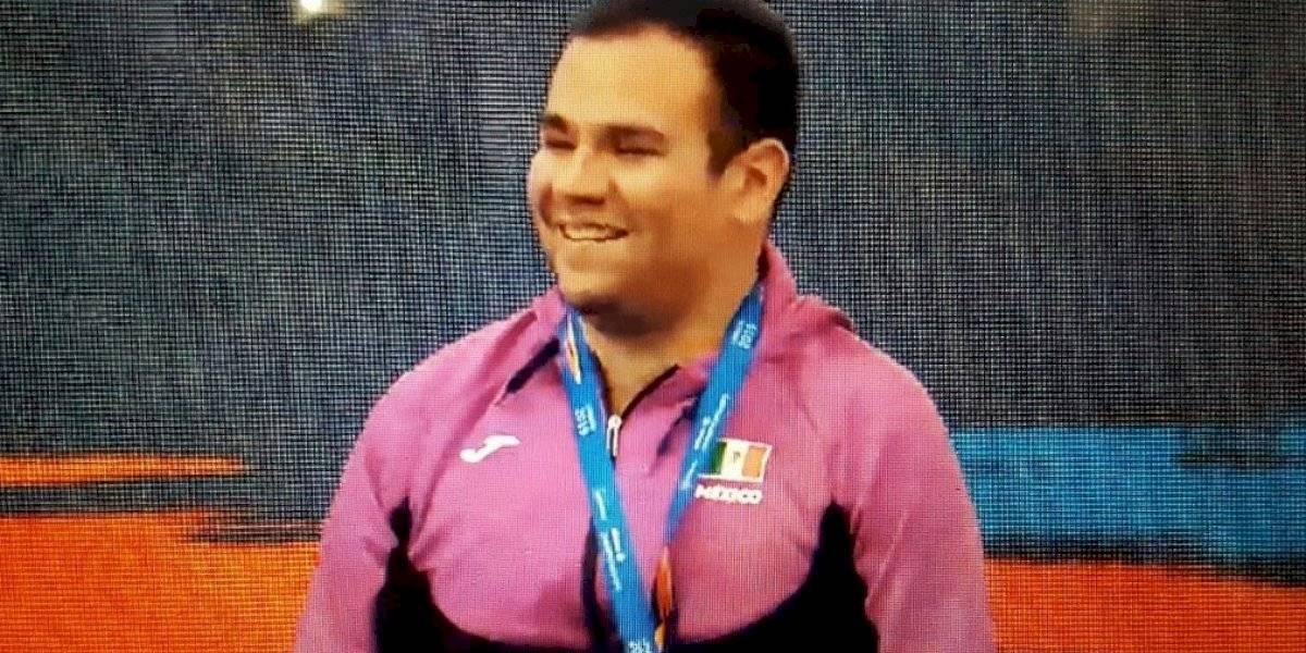 Mexicano Diego López suma su cuarto oro en el Mundial de Paranatación
