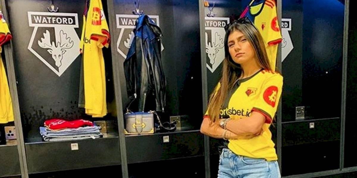Mia Khalifa cambia al West Ham por el Watford