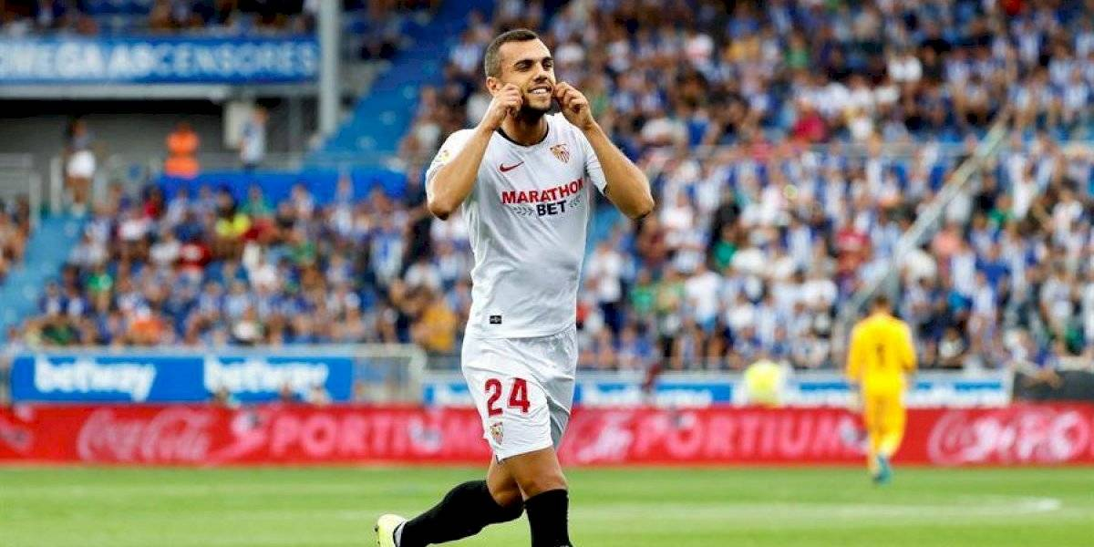 Sevilla es líder tras derrotar al Alavés en el debut de Javier Hernández