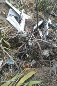 Dos fallecidos al accidentarse helicóptero en Imbabura