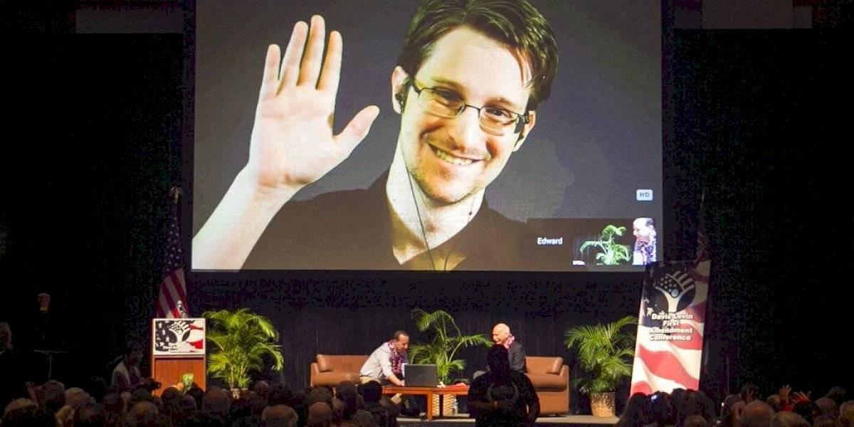 Snowden pide a Macron que le dé asilo en Francia