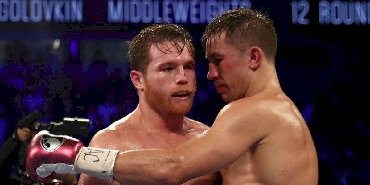 De la Hoya confirma tercer pelea entre Canelo y GGG