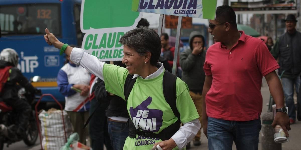 Claudia López pidió cambiar su nombre en el tarjetón de elecciones a la Alcaldía