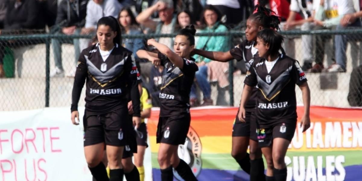 La tabla de posiciones del Campeonato Nacional de Primera División femenina 2019