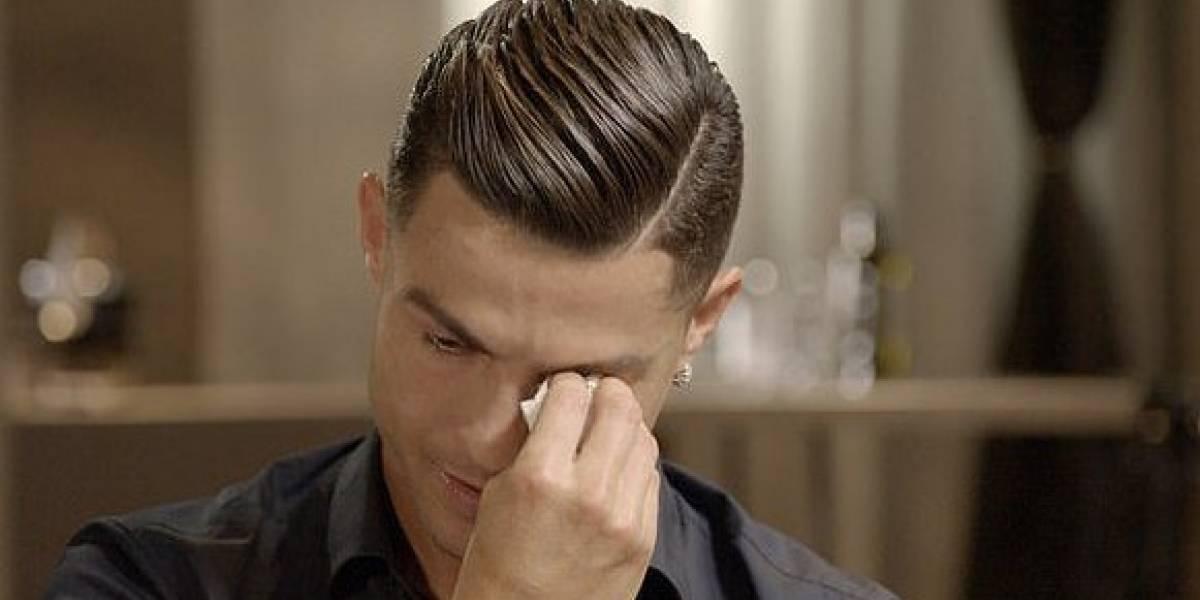 """Cristiano Ronaldo rompe en llanto al recordar a su fallecido padre: """"Él no vio nada de lo que yo gané"""""""