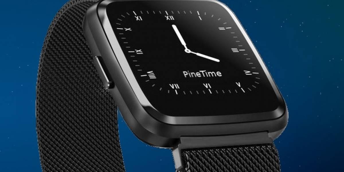 Conoce a PineTime, el smartwatch ultra barato basado en Linux