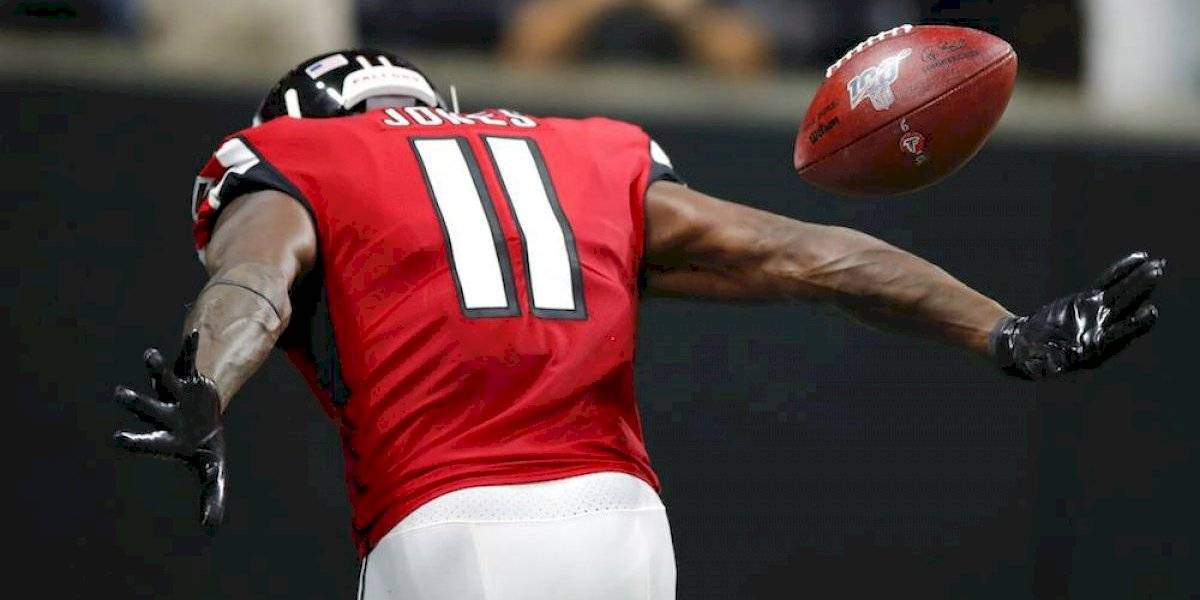 Julio Jones da triunfo a Falcons sobre Eagles