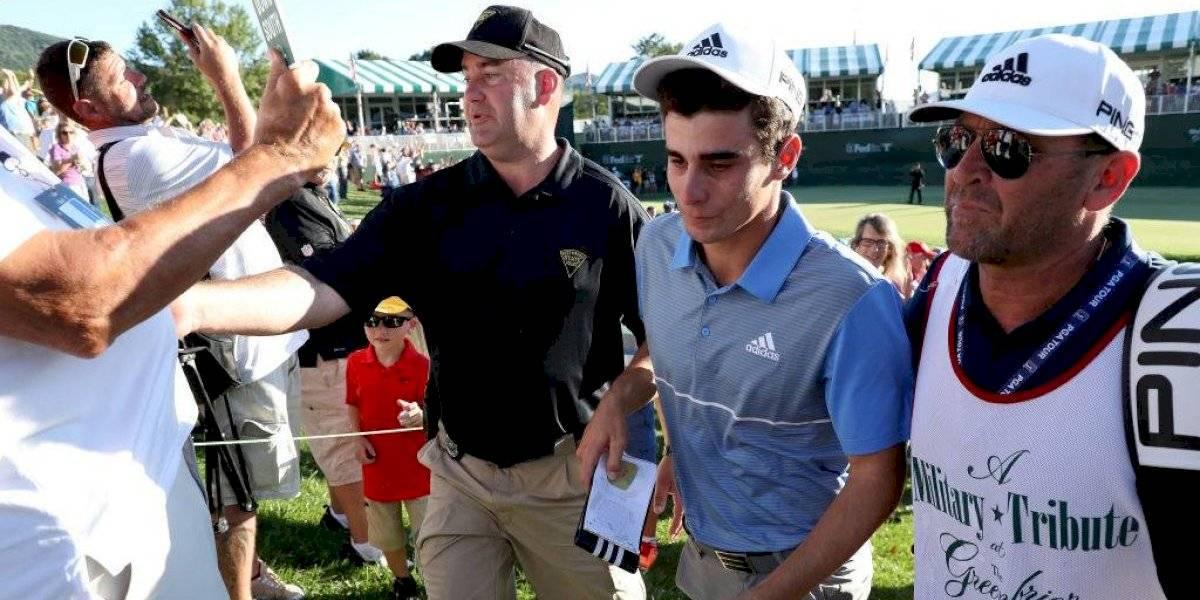 La emocionante celebración de la familia y los amigos de Niemann tras su primer título en el PGA Tour