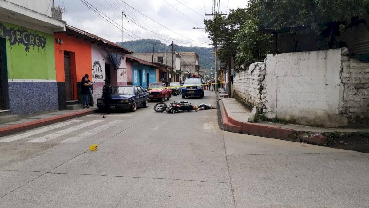 hombres asesinados en Amatitlán