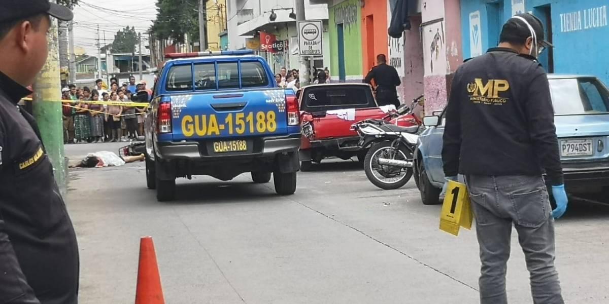 Ataques armados en Mixco y Amatitlán dejan tres muertos