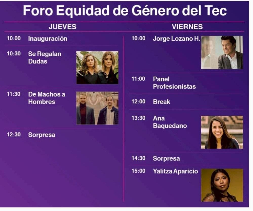 programa equidad de género Tec