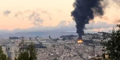 Incendio estructural en el norte de Quito