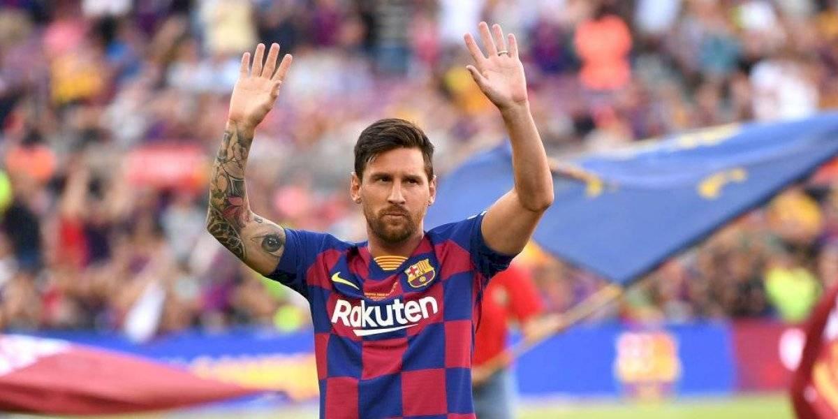 Messi recibe el alta médica y podría jugar en la Champions