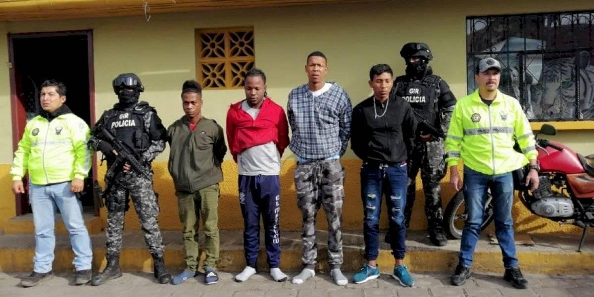 Capturan a presuntos responsables de robo en boda en sector la Ecuatoriana, Quito
