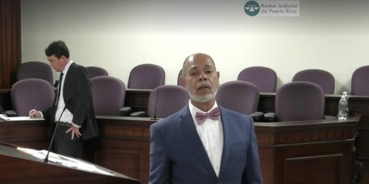 Licenciado Jorge Gordon descompone al novio de Arellys en contrainterrogatorio