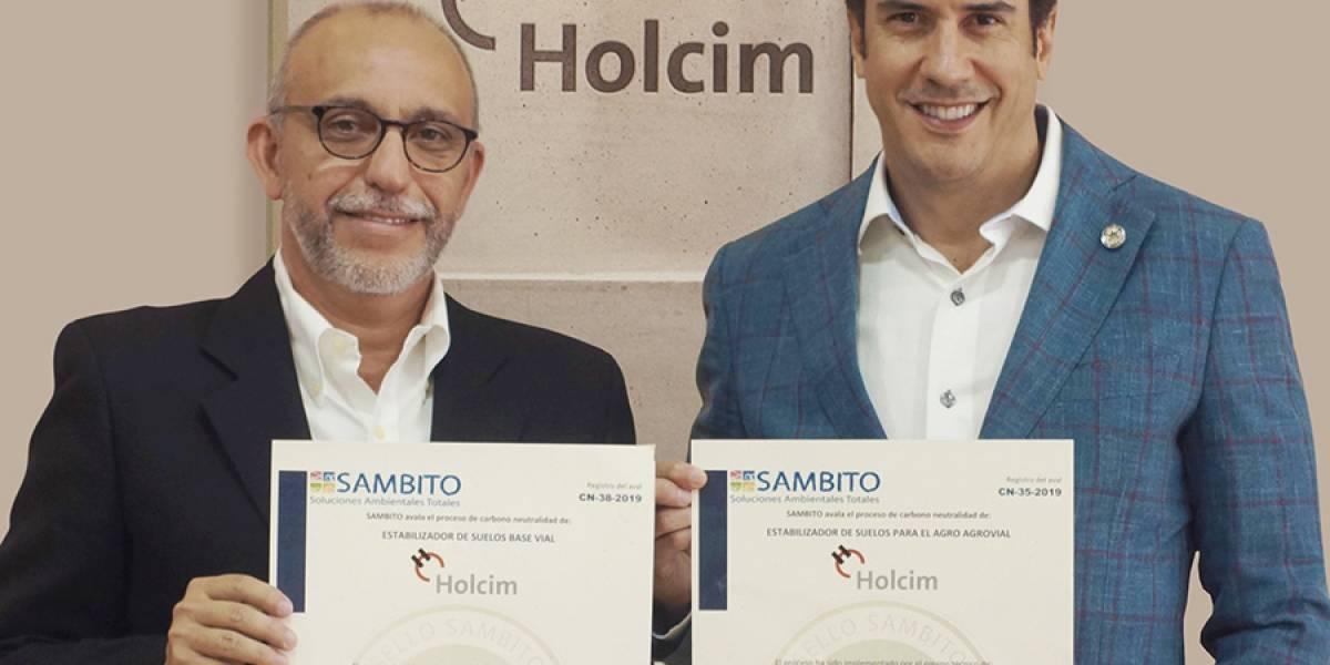 Holcim Ecuador reciben certificado Carbono Neutro